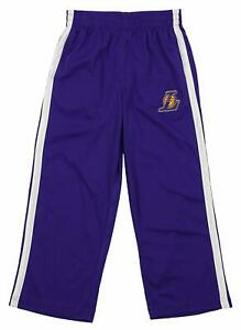 Outerstuff NBA Youth Los Angeles Lakers Dribble Mesh Pants, Purple