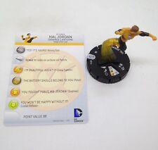 Heroclix War of Light set Hal Jordan (Orange Lantern) #011a Common figure w/card