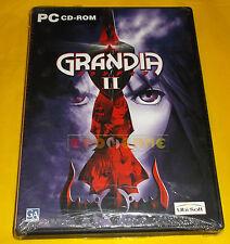 GRANDIA II 2 Pc Versione Ufficiale Italiana 1ª Edizione ○○○○ NUOVO SIGILLATO