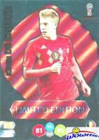 Kevin De Bruyne Belgium 2018 Panini Adrenalyn WORLD CUP RUSSIA LIMITED EDITION