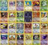 Pokemon Cards BASE 1 & 2 / FOSSIL / JUNGLE / ROCKET / PROMO Non-Holo RARES TCG