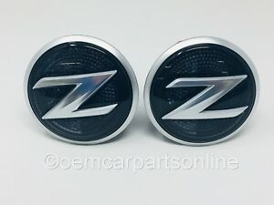 2009-2015 Nissan 370Z Left & Right Fender Repeater Light Lamp Emblem Marker OEM