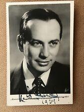 Maurice Escante ( Autographe 0riginal)