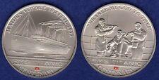 Islas Cook 2012 dólares x2, Titanic Centenary, 2x Conmemorativa $1 (ref. t1902)