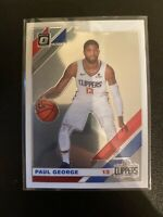 2019-20 Donruss Optic Base #20 Paul George Los Angeles Clippers