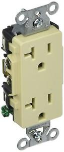 Hubbell DR20I Receptacle