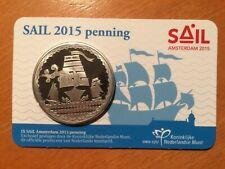 Nederland coincard Sail penning 2015