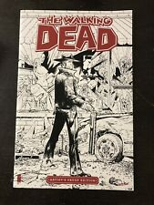 THE WALKING DEAD #1 Image Giant-Sized Artist's Proof Edition New 11x17 Huge!