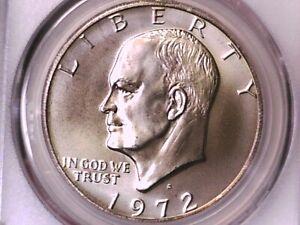 1972 S Eisenhower Dollar PCGS MS 67 36196574