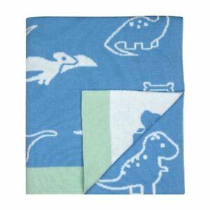 Weegoamigo Hola Knit Blanket Party Dinos