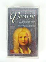 Vintage NEW Antonio Vivaldi The Masterpiece Collection Cassette Tape Sealed