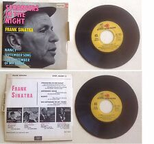 Frank Sinatra Disque Super 45T vinyl 4 titres Strangers in the night vintage