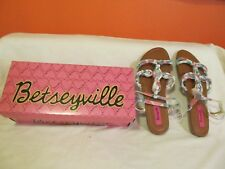 Embellished Sandals by Betseyville Size 5 NEW IN BOX~Style Rae