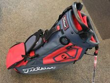 ***BRAND NEW*** 2018 Titleist Players 4 Golf Stand Bag - Charcoal/Red