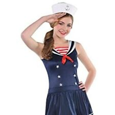 Sailor Sweetie - Size Junior Small Sailor Costume - Lady Navy Shipmate Costume