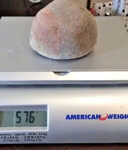 Mystery Interesting Strange Bizarre Block Rock from Lake Michigan 576 Grams