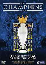 Leicester City Football Club: premier League Champions-temporada 2015/16 DVD