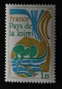 Timbre poste. France. n°1849. Région. Pays de la Loire.