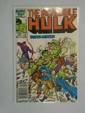 Incredible Hulk #321 Newsstand edition 4.0 VG (1986 1st Series)