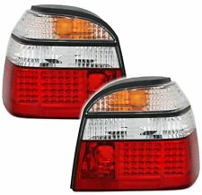 LED Rückleuchten VW Golf 3 III Rot Weiß Heckleuchten Rücklichter Tuning Neu