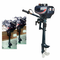 2/3/4 Stroke Outboard Motor 3.5-7HP Fishing Boat Engine Air/Water Cooling System