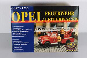 Pola 1867 Spur G Bausatz Opel Blitz Feuerwehr OVP (S88)