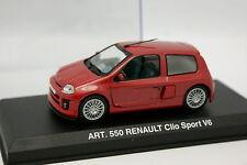 UH Carrera 1/43 - Renault Clio Sport V6 1998 Rojo