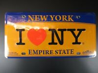 NEW YORK Plate Metall Schild Metal 30 cm,Souvenir USA,I LOVE NY