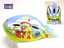 Casco Bimbo Bambino per Bici Disney WINNIE THE POOH caschetto 52-56 cm