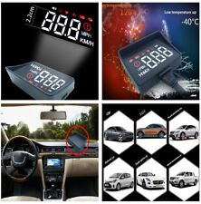 3.5'' HUD A100S Head Up Display OBD2 Driving Computer Speed Projector Volt Alarm