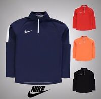 Junior Boys Genuine Nike Football Training Academy Mid Layer Top Size Age 7-13