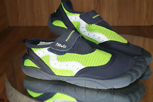 Newtz Kids Bumper Toe Trainer Shoes Size 2/3 Youth Water UPF 50 Sun Protection