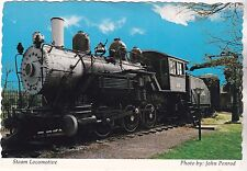 "Indiana Postcard-""The Steam Locomotive"" @ Museum @ Evans, IN"