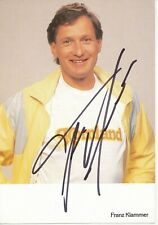 Franz Klammer  Österreich  Ski Alpin Autogrammkarte orig. signiert 397119