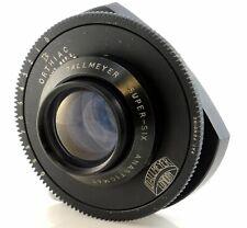 "Dallmeyer 3"" F1.9 Super Six Lens Anastigmat DC Coated Superb Legendary Lens"