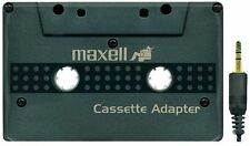 Maxell Car Stereo Cassette Adapter For Auto Car or Truck in Black Ships from USA