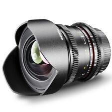 walimex pro 14/3,1 Objektiv VDSLR für Nikon  D100 D200 D300 D300s D70 D70s u.a.
