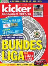 Kicker Sonderheft Bundesliga 2017/18 - Germany Football Season Preview Magazine