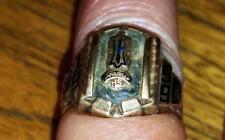 1959 Camarillo High School Class Ring Jostens 10K Vintage
