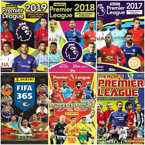 Premier League Collection of 35 Complete Albums -in PDF- Soccer