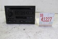 99-01 02 03 SAAB 9-5 2.3T SEDAN AM FM RADIO CD CASSETTE PLAYER AUDIO EQUIPMENT