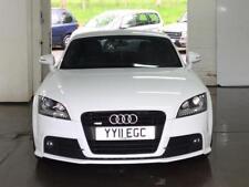 2011 Audi TT S Line Quattro Special Edition White with Dark Graphite Alloys
