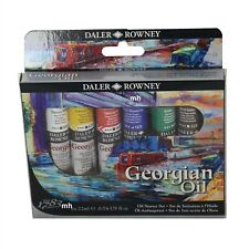Daler-Rowney Georgian Oil Starter Set - 6 x 22ml tubes