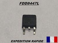LOT DE 4 PCS FDD8447L - FDD 8447L TRANSISTOR MOSFET TO-252