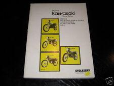 Reparaturanleitung Kawasaki 100 / 125 / 175 ccm Cross Dirt Bike von 1973