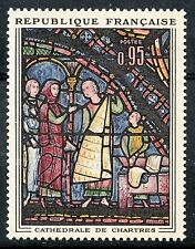 STAMP / TIMBRE FRANCE NEUF LUXE °° N° 1399 ** TABLEAUX CATHEDRALE DE CHARTRES