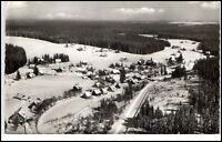 Kniebis Lamm Schwarzwald Postkarte 1959 gelaufen Totalansicht im Winter