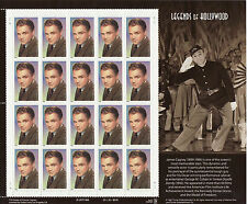 JAMES CAGNEY STAMP SHEET -- USA, #3329, 33 CENT, 1999 LEGENDS OF HOLLYWOOD