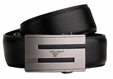 New-Mens Belt Genuine Septwolves Real Leather Fashion Black/Brown/Blue All Size