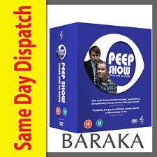 Peep Show Series 1, 2, 3, 4, 5, 6 & 7 Complete DVD Box Set 1 - 7
